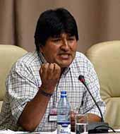 Morales accuses U.S. of sending disguised troops into Bolivia