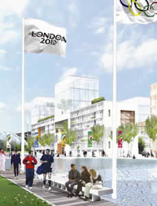 Olympic construction timetable is tight, according to the London officials's statement