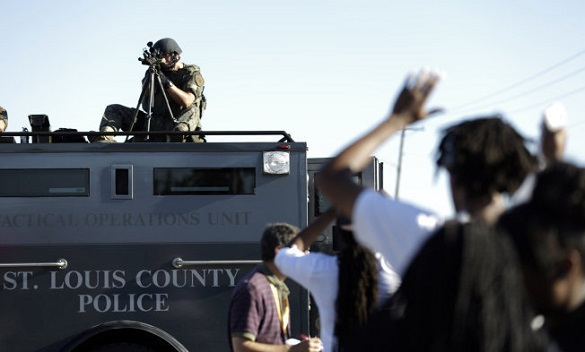 Ferguson declares state of emergency after violent clashes. Ferguson unrest