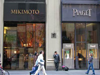 Fifth Avenue is on first place in survey of pricey shopping areas