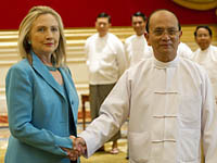 Hillary Clinton pays historic visit to Burma. 46007.jpeg