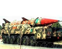 Pakistan test-fires medium-range missile with ability to carry nuclear warheads