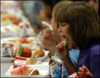 More school students prefer vegetables to junk food