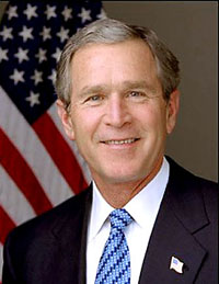 Bush speaks about racism in USA