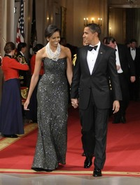 Couple Crashes State Dinner in White House