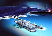 Russia to build the world's first floating nuclear power plant in 2010