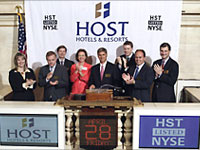 Host Hotels & Resorts profit rises