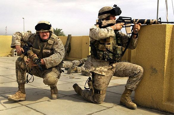 Marines to suppress domestic disorders in the US. Video. US suppress domestic disorders