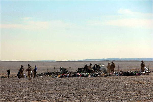 A321 Sinai crash: Plastic explosive was used to destroy airliner. Sinai plane crash investigation
