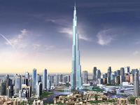 Burj Dubai to rise one kilometer high as it opens in September