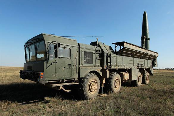 New ballistic missile created for Iskander tactical system. Iskander missile system
