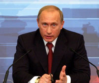 Putin says US-led military action in Iraq turns into campaign against Iraqi people