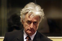 Radovan Karadzic refuses to enter pleas to 11 charges filed against him