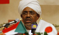 Flying Shoes Misses Face of Sudan President Beshir