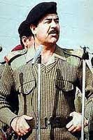 Will they hunt 50 years for WMD, Saddam asked, when `we don't have anything'?