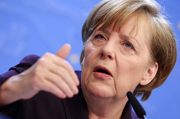 Merkel: Sanctions against Russia to stay in effect to EU's detriment. 54025.jpeg