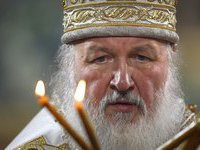 Russian patriarch urges senators to strongly reject legalization of gay marriage. 52026.jpeg