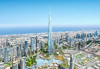 Burj Dubai to become the world's tallest building