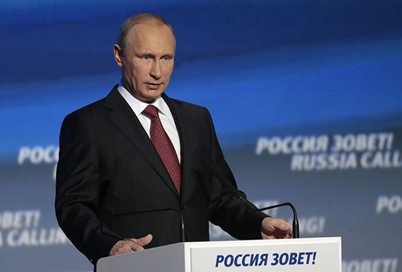 Putin ousts Obama from AFP's list of world's most influential politicians. Vladimir Putin
