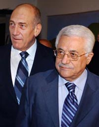 Olmert and Abbas to meet on Palestinian territory for the first time