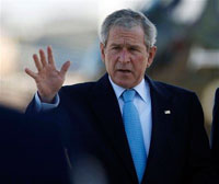 With Katrina in mind, Bush heads to Texas to say hello to Gustav