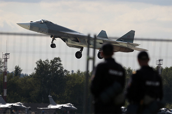 Russian Air Force starts receiving PAK FA fifth-generation fighter jets. 60028.jpeg