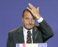 Jacques Chirac to meet with China's foreign minister
