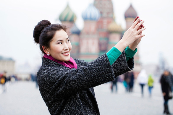 Million Chinese inundate most favourite Russia. Moscow