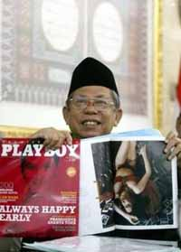 Indonesia Playboy editor-in-chief found not guilty of indecency violations
