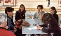 French students fight against Sarkozy's reform