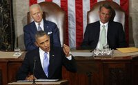 Obama plays national hero in State of the Union. 52034.jpeg
