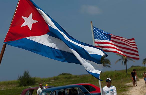 US tries to protect Cuba and Iran from Russian influence. USA and Cuba