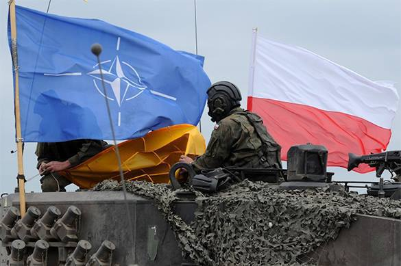NATO promises to 'brilliantly jump' on Russia. Poland