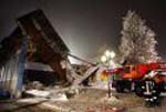 Roof collapses in Poland: no injuries