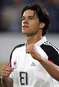 Michael Ballack denies thinking about leaving Chelsea for Real Madrid