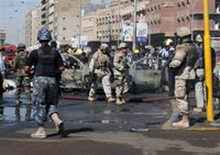 Terrorist Act Near Iraq Forensic Headquarters Kills 17