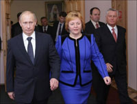 Putin's Wife Made  in 2009