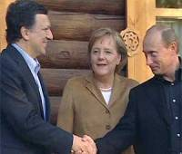 EU leaders and Russia traded barbs over Russia's human rights record at the end of summit