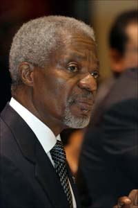 Annan tells countries to address biological weapons threats