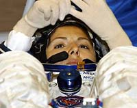 Russia launches female tourist into space for 20 million dollars