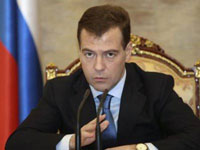 Iran Continues to Develop Nuclear Technology, Medvedev Says
