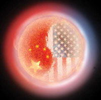 US-China relations affect world markets greatly