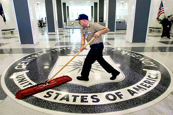 USSR wound CIA round finger during Cold War. CIA: intelligence failure