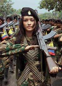 Female Guerrillas of FARC