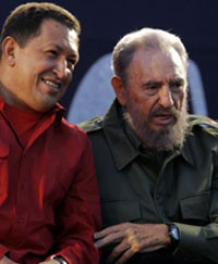 South America embraces Cuba