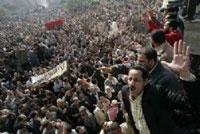 Civil servants strike demanding higher wages in Egypt