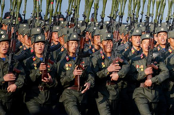 'Wild' North Korean special forces guard President Maduro. North Korea