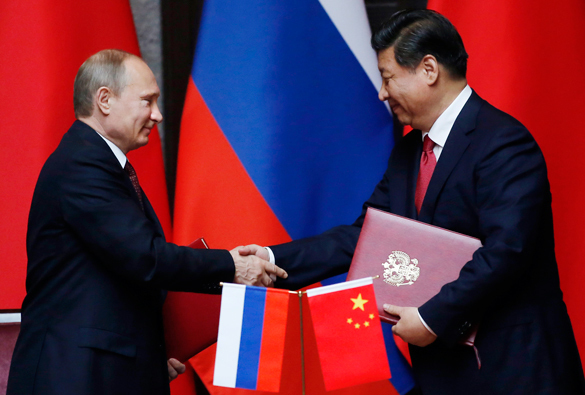 What should US do, as Russia and China draw together. Leaders