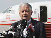 Poland's Late President Kaczynski Entirely Responsible for Tu-154 Crash in Russia's Smolensk?