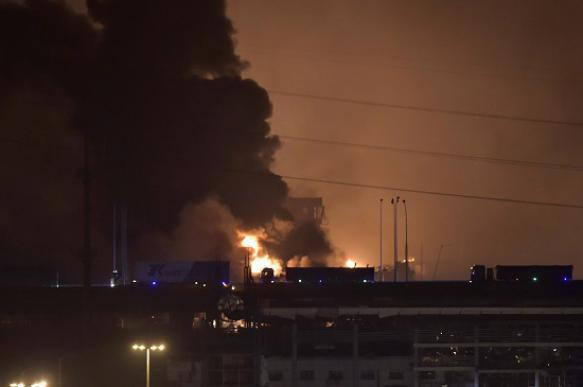 Tianjin blast generates nerve gas. China